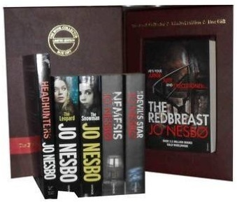 Jo Nesbø Collection Pack a Harry Hole Mystery Set: Redbreast, Nemesis, the Devil's Star, the Redeemer, the Snowman, the Leopard, Headhunters