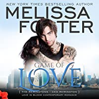 Game of Love Audiobook (The Remingtons #1; Love in Bloom #10)