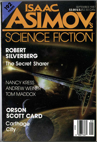 Isaac Asimov's Science Fiction Magazine, September 1987 (Asimov's Science Fiction, #121)