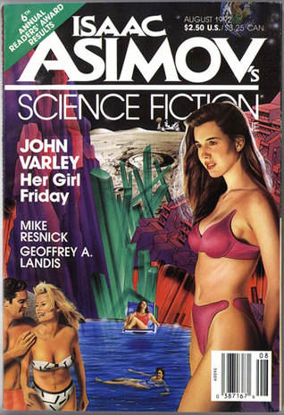Isaac Asimov's Science Fiction Magazine, August 1992 (Asimov's Science Fiction, #189)