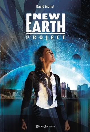 Bücherblog. Rezension. Book cover.   New Earth Project by David Moitet. Fantasy.