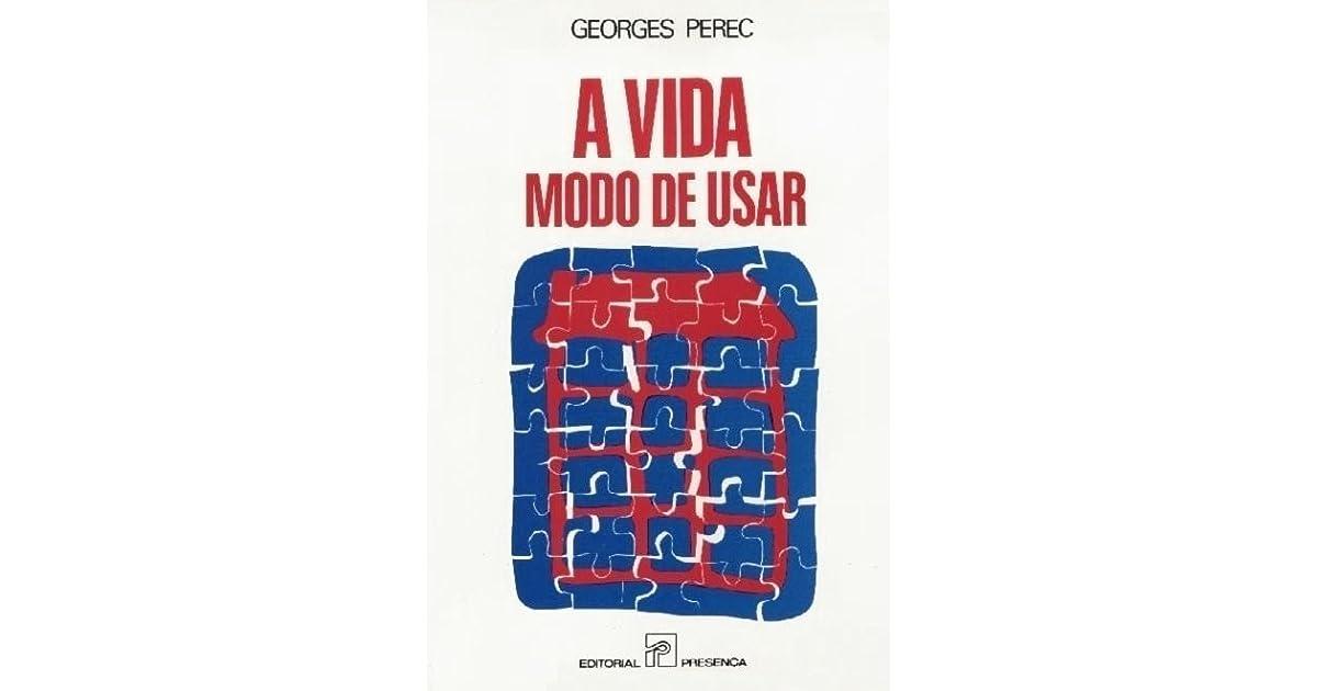 L Insalata Sotto Il Cuscino Pdf.A Vida Modo De Usar By Georges Perec 4 Star Ratings