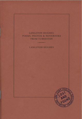 Langston Hughes Poems Photos Notebooks From Turkestan By