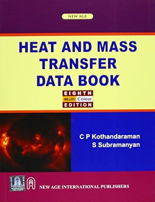 Data book by download mass c. and kothandaraman transfer heat
