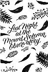 Last Night at the Mount Solemn Observatory: A #LoveOzYA Short Story