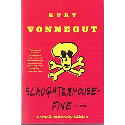 summary of slaughterhouse five a satirical novel by kurt vonnegut Summary | review | buy i should probably be clear about this from the very start: kurt vonnegut is one of my favorite writers of all time and slaughterhouse five is probably the best book he's ever written in my humble opinion – and if that clouds my review in any way, wellso it goes.
