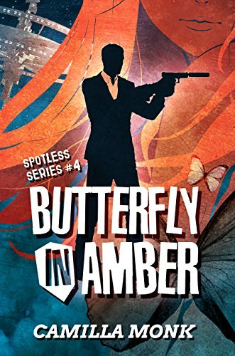 Camilla Monk - Spotless 4 - Butterfly in Amber