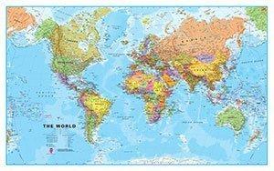 World, Phy, 33x54, Lam  by  Hema