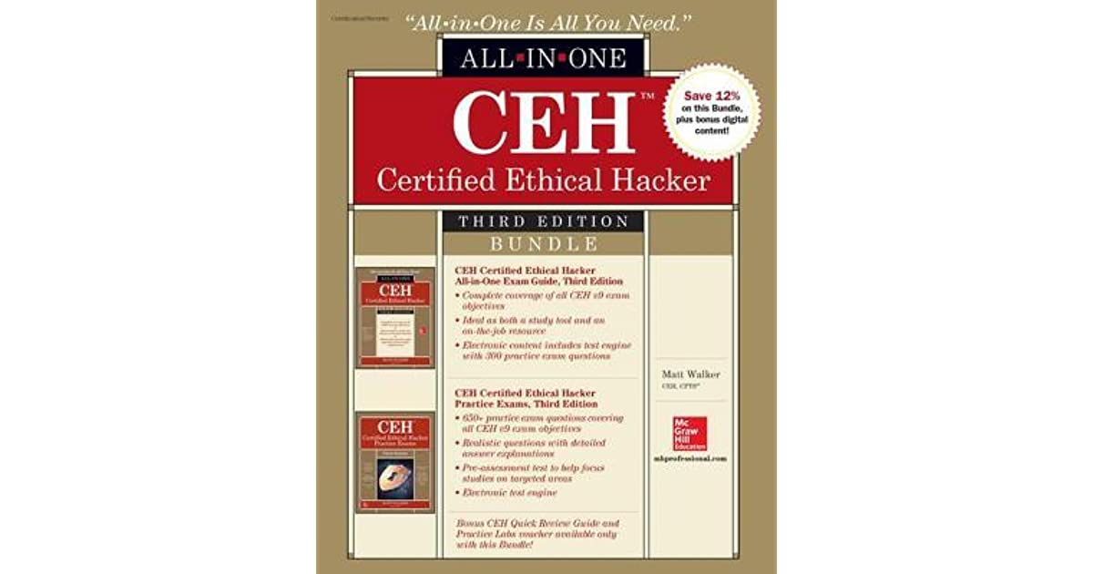 Ceh certified ethical hacker bundle third edition by matt walker 1 ceh certified ethical hacker bundle third edition by matt walker 1 star ratings fandeluxe Choice Image