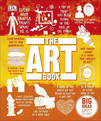 The Art Book Big Ideas Simply Explained by D K Publishing
