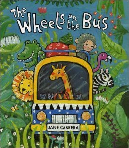 The Wheels on the Bus - Jane Cabrera - Book Only