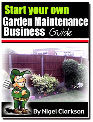Start Your Own Garden Maintenance Business