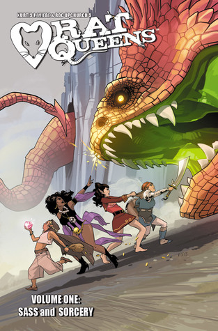 Sass & Sorcery (Rat Queens, #1) by Kurtis J. Wiebe