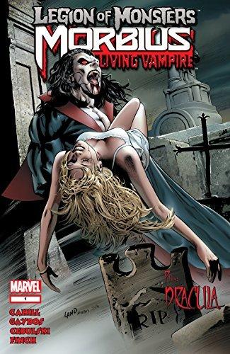 Legion of Monsters: Morbius (2007) #1 (Legion of Monsters C.B. Cebulski