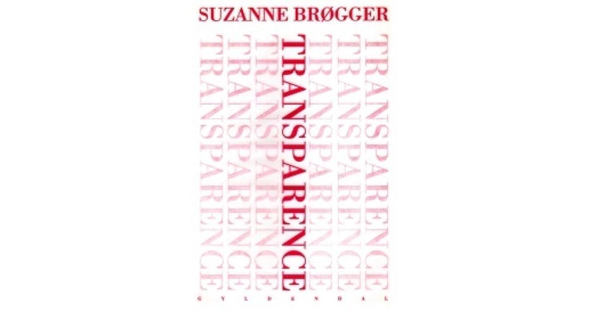 Bildresultat för Transparence Suzanne Brøgger