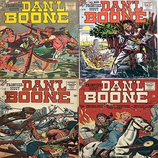 All new Frontier Scout Dan'l Boone. Issues 10, 11, 12 and 13. Includes The war belt, blood brother, devils landing and more. Digital Sky Comic Compilations Wild West Western