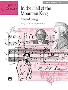 In the Hall of the Mountain King: Late Elementary Piano Solo