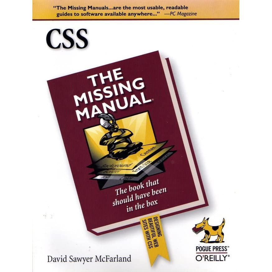 G Brett S Review Of Css The Missing Manual
