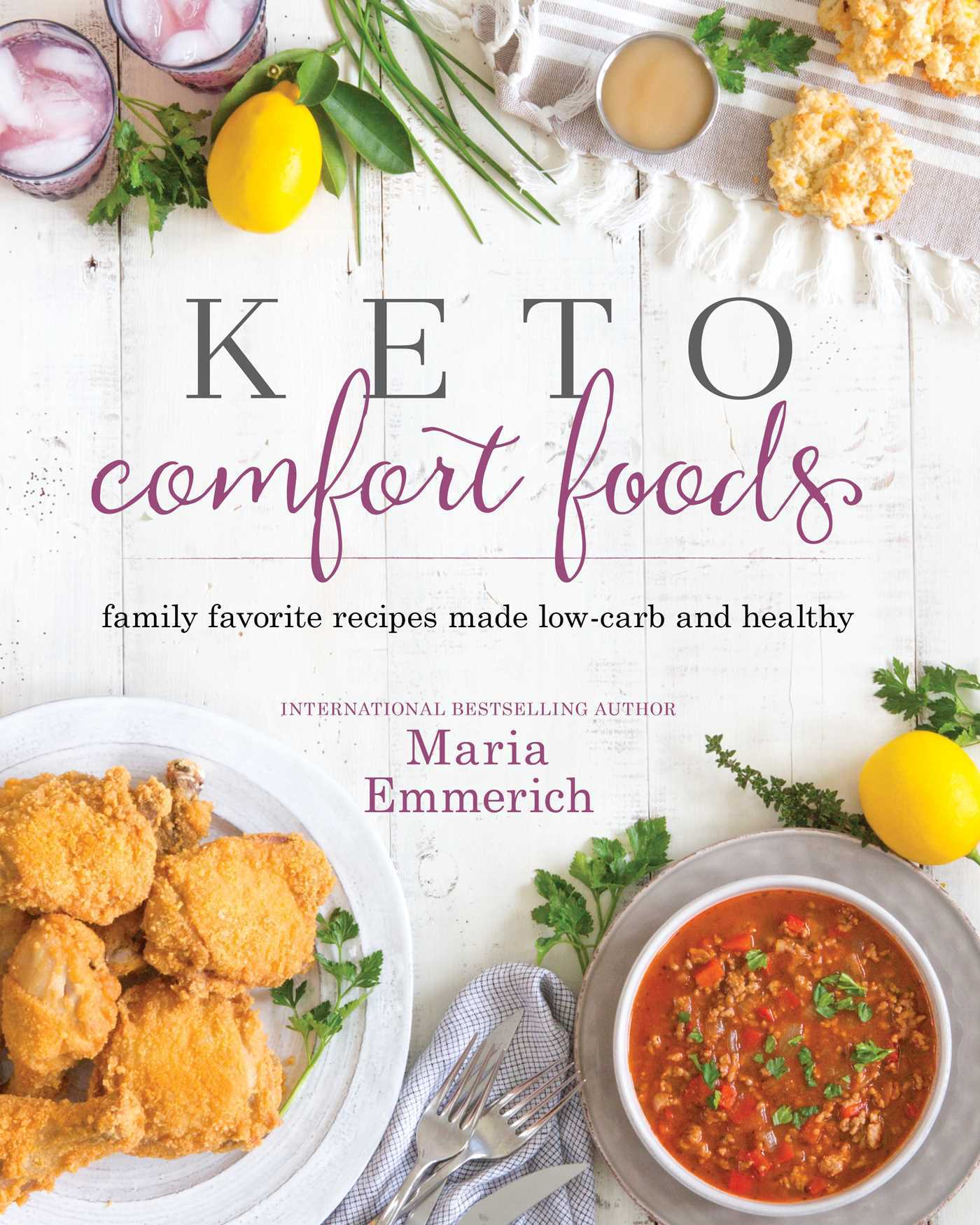 Keto Comfort Foods  Family Favorite Recipes Made Low-Carb and Healthy ( PDFDrive