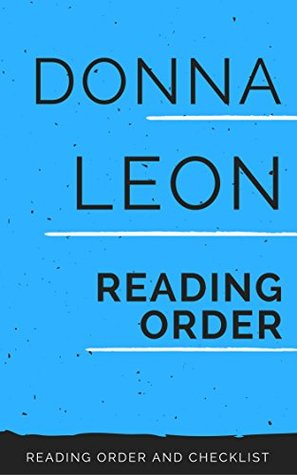 DONNA LEON: THE WATERS OF ETERNAL YOUTH, GUIDO BRUNETTI BOOKS, GUIDO BRUNETTI NON-FICTION BOOKS, STANDALONE NOVELS, NON-FICTION BOOKS BY DONNA LEON