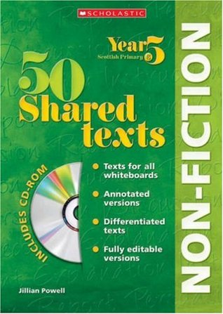 50 Shared Non Fiction Texts for Year 05 with CD Rom: Year 5 (50 Shared Texts: Non-Fiction)