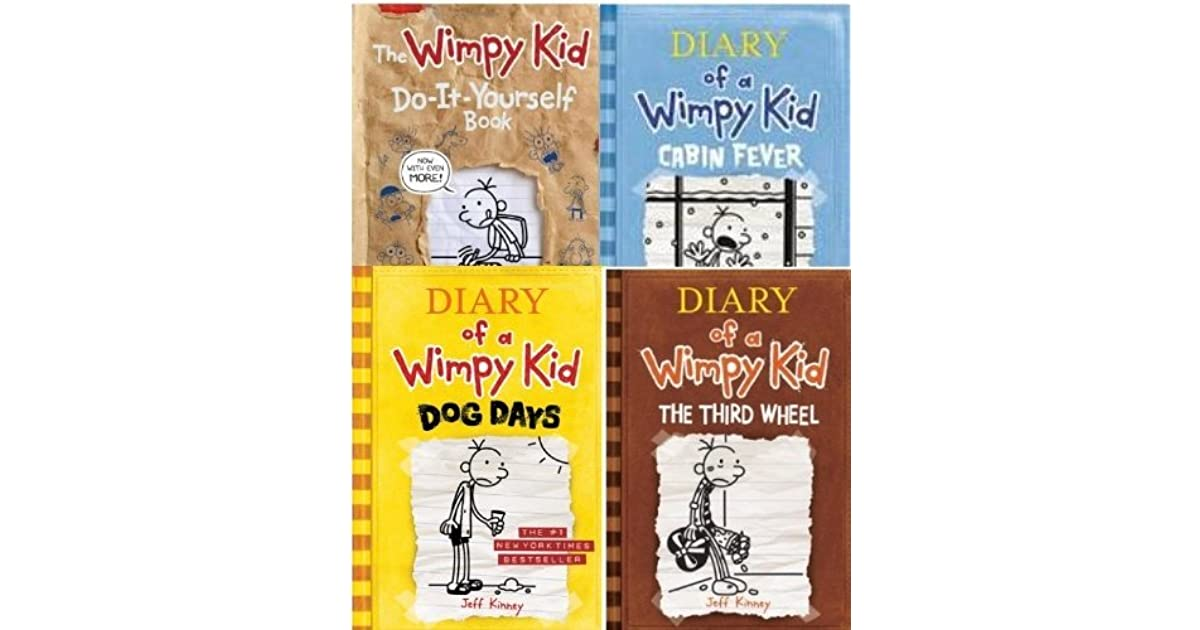 Diary of a wimpy kid 4 book collection by jeff kinney solutioingenieria Gallery