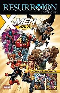 ResurrXion Free Previews Spotlight #1 (Marvel Previews)