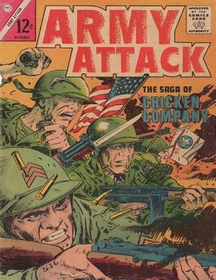 Army Attack: Volume 2 the Saga Chicken Company: History Comic Books, Comic Book, Ww2 Historical Fiction, WWII Comic, Army Attack