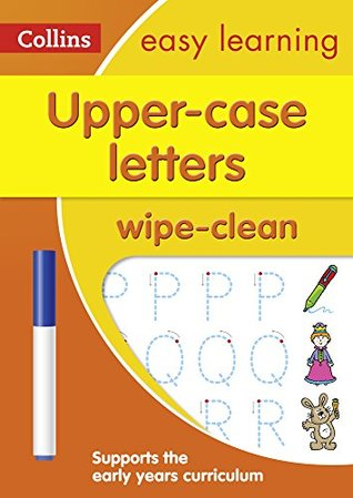 Upper Case Letters: Wipe-Clean Activity Book