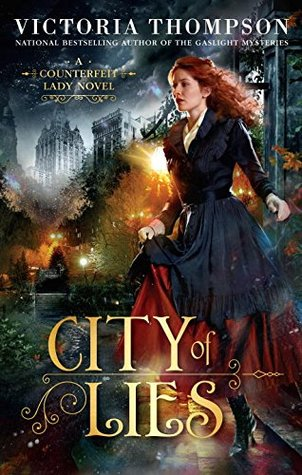 City of Lies (Counterfeit Lady, #1)