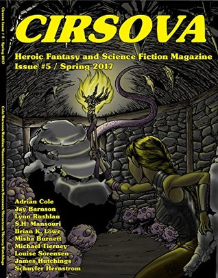 Front cover of Cirsova: Heroic Fantasy and Science Fiction Magazine, Volume 1, Issue 5, ed. P. Alexander