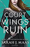 Book cover for A Court of Wings and Ruin (A Court of Thorns and Roses, #3)