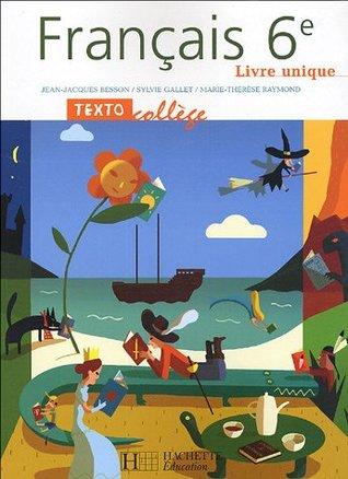 Francais 6e By Jean Jacques Besson