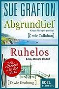 Abgrundtief/Ruhelos: Zwei Romane in einem Band