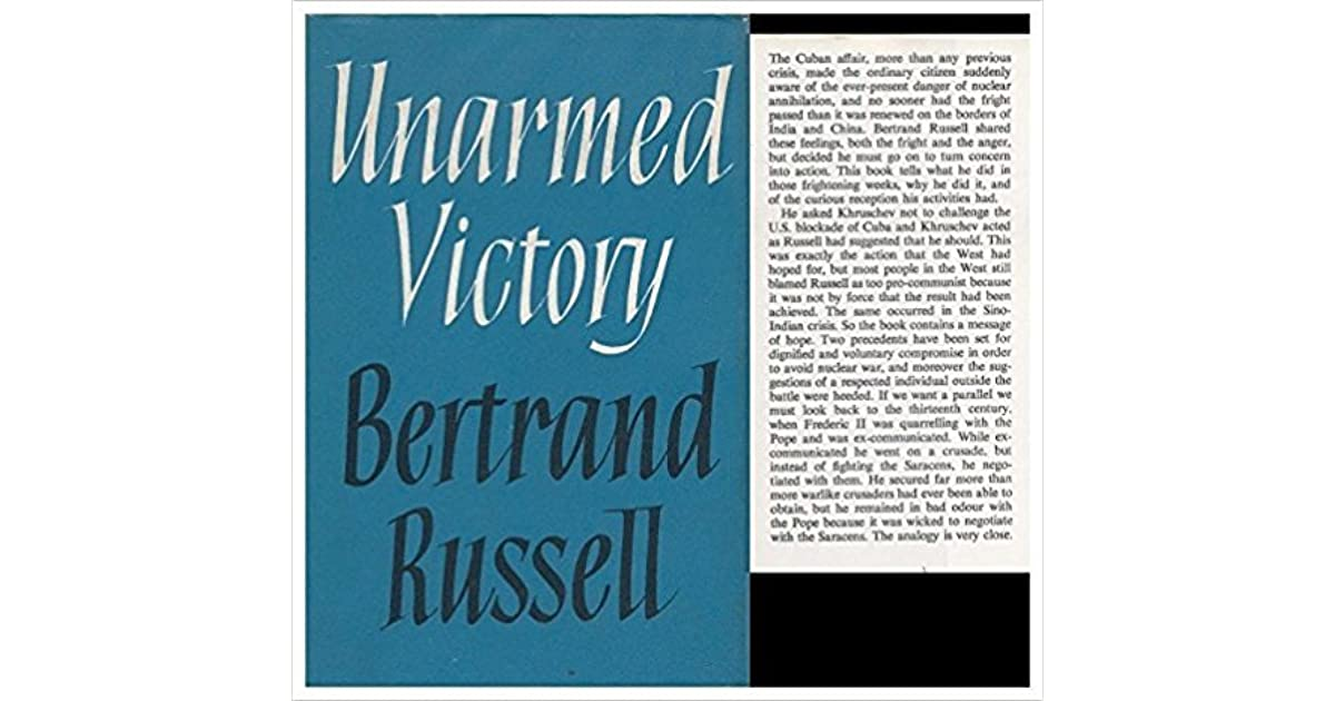 Download russell victory pdf unarmed bertrand