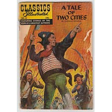 A Tale of Two Cities by Charles Dickens Number 6 Classics Illustrated  Comics