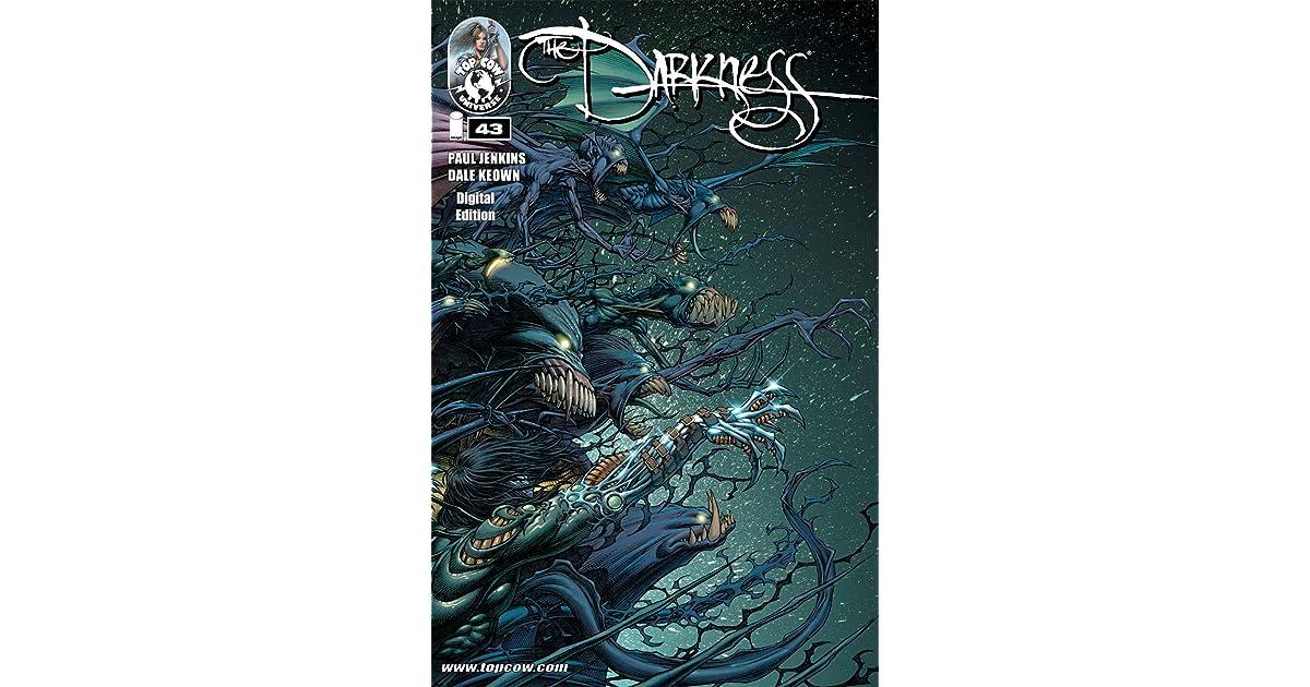 DARKNESS v2 #1 signed 1st print PAUL JENKINS top cow COMIC BOOK mafia horror