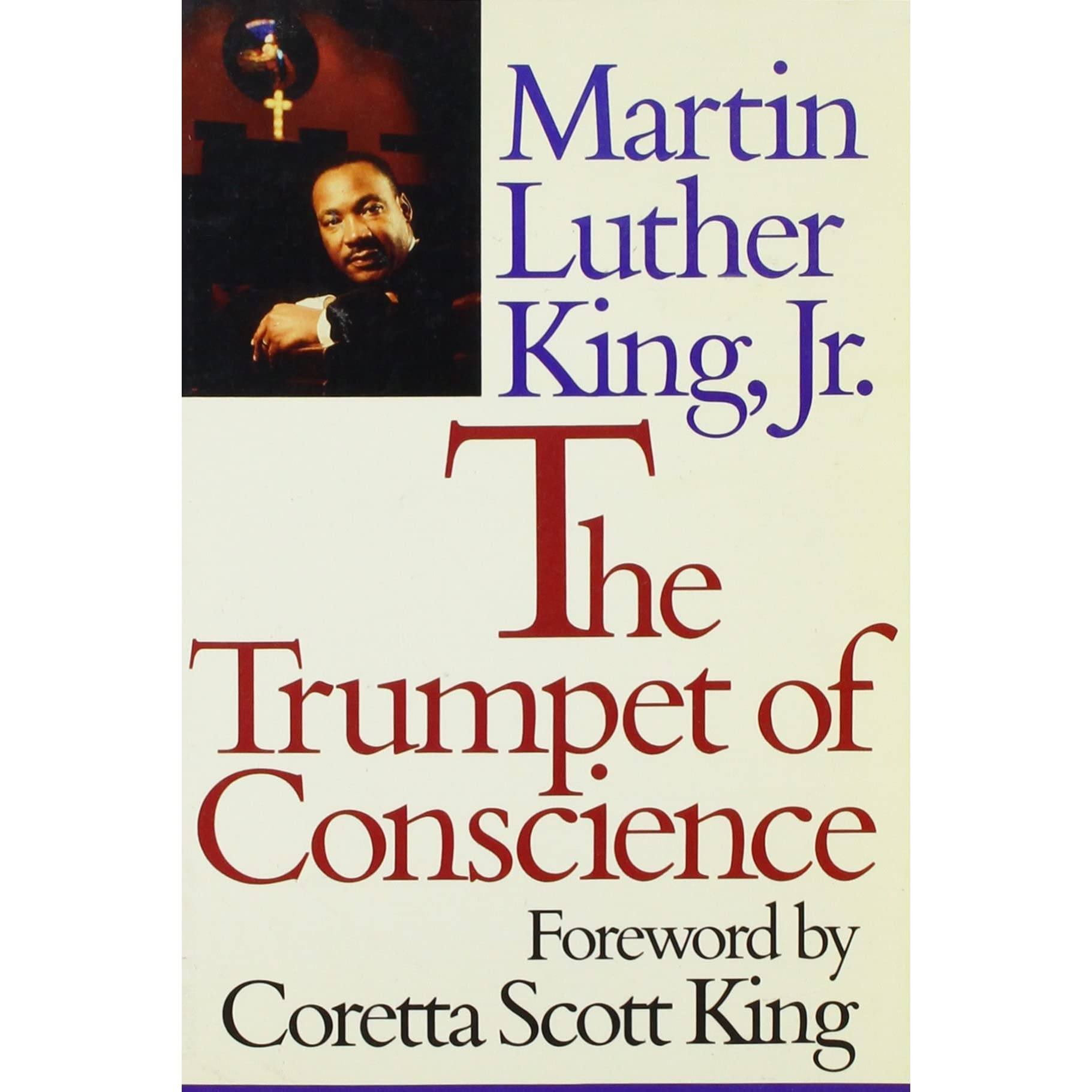 Trumpet of conscience by martin luther king jr fandeluxe Images