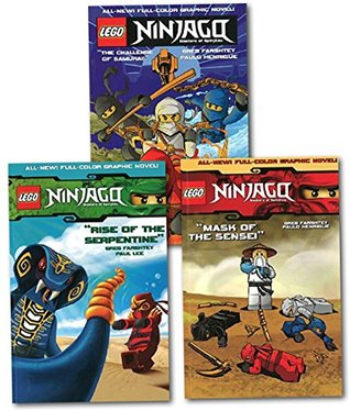 Lego Ninjago Masters of Spinjitzu Collection 3 Books Set (Vol.1-3) (The Challenge of Samukai (Lego Ninjago Vol.1), Mask of the Sensei (Lego Ninjago Vol.2), Rise of the Serpentine (Lego Ninjago Vol.3)