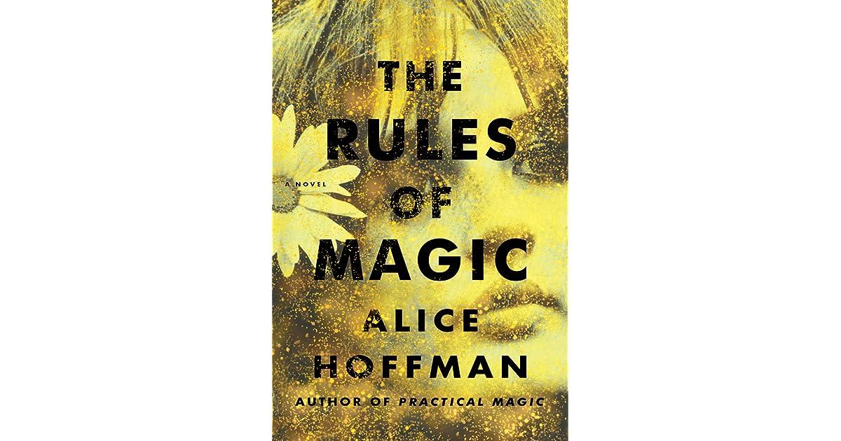 Résultats de recherche d'images pour «the rules of magic alice hoffman»