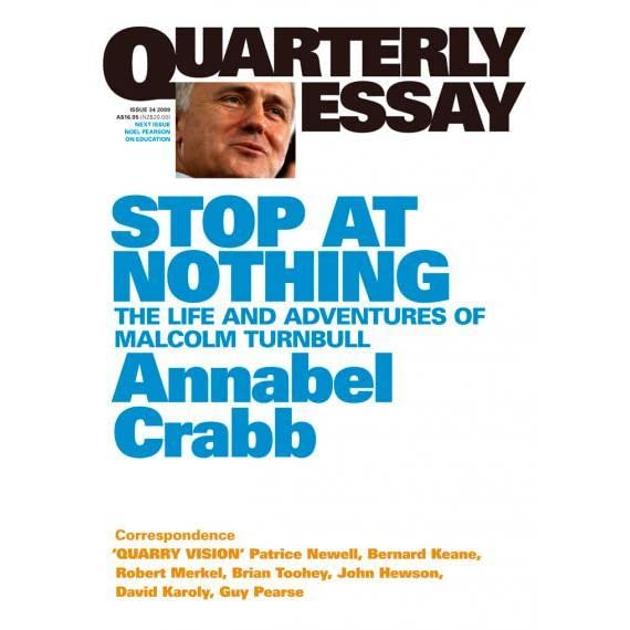 annabel crabb quarterly essay malcolm turnbull