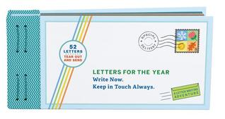 Letters for the Year: Write Now. Keep in Touch Always. (Paper Time Capsule, Memory Letters, Personal Mementos)