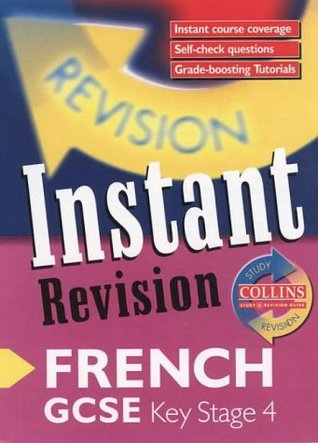 Instant Revision - GCSE French: Instant Revision Cards (Collins Study & Revision Guides)