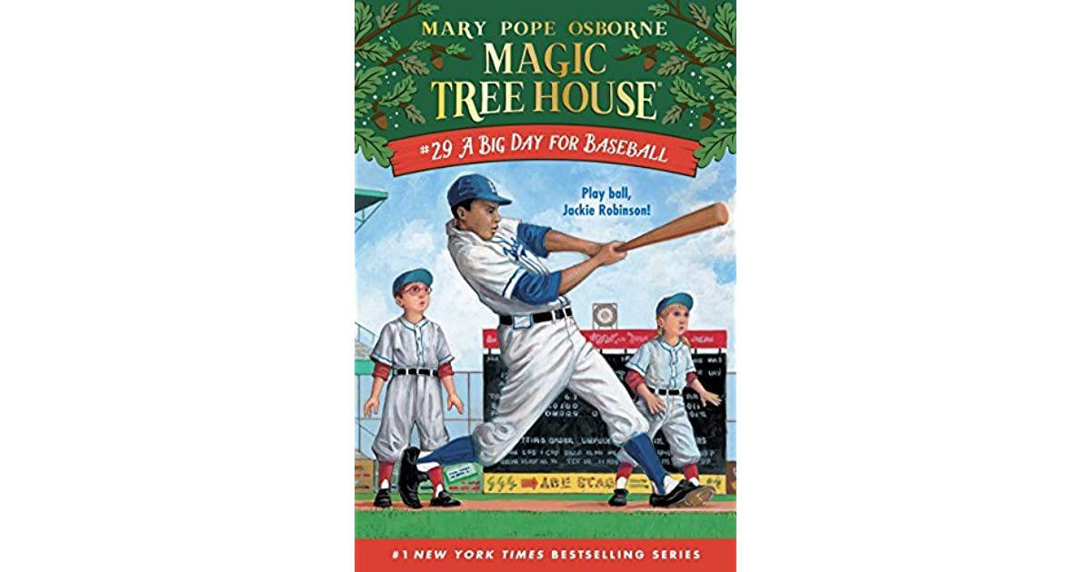 Book Cover Fantasy Baseball : A big day for baseball by mary pope osborne