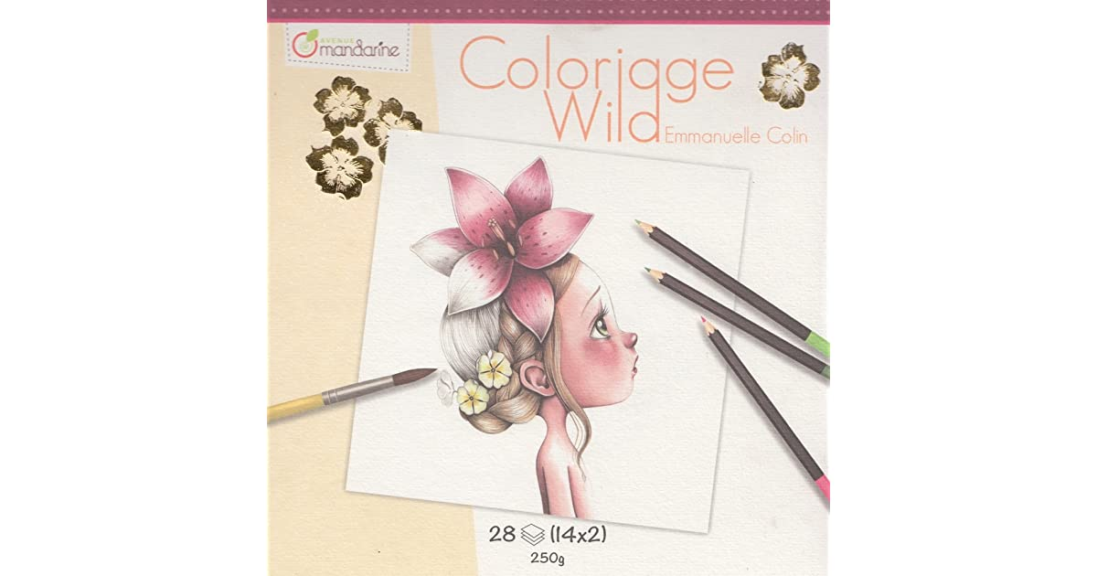 Coloriage Wild By Emmanuelle Colin