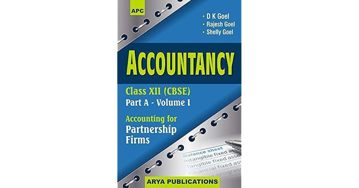 Dk Goel Accounts Book Class 11 Pdf