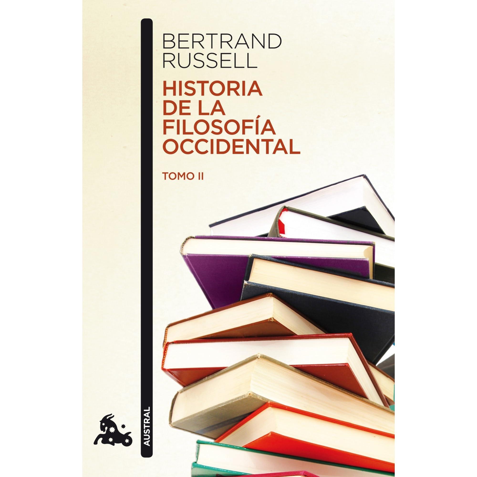 historia de la filosofía occidental tomo ii by bertrand russell