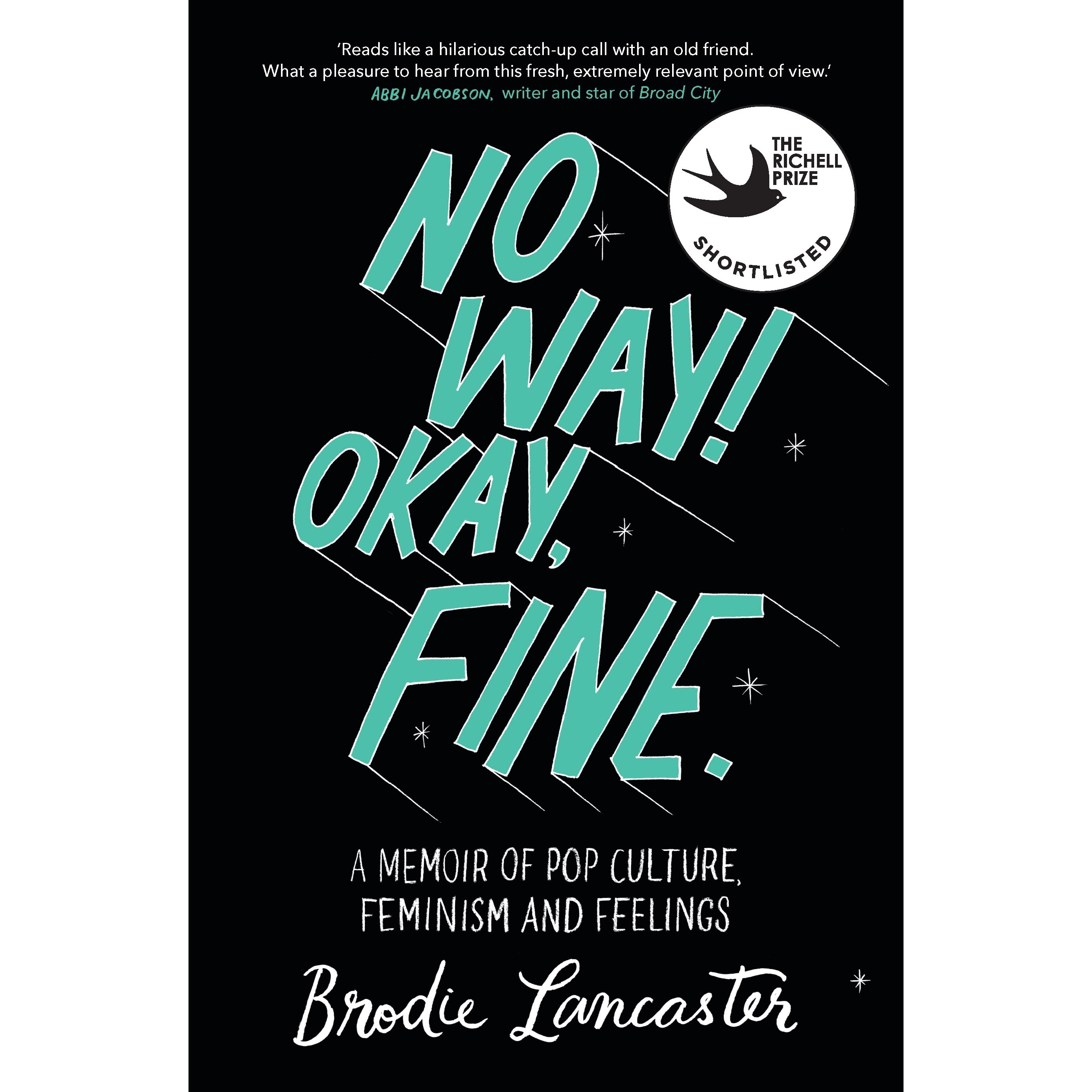 No way okay fine by brodie lancaster fandeluxe Image collections