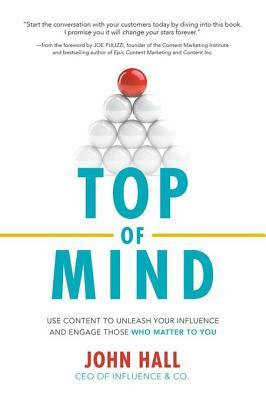 Top of Mind - John Hall | goodreads.com