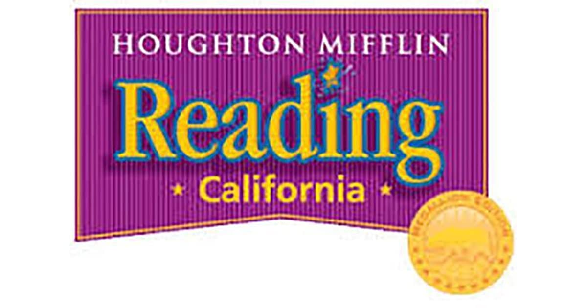 Houghton Mifflin Reading Leveled Readers California Vocab